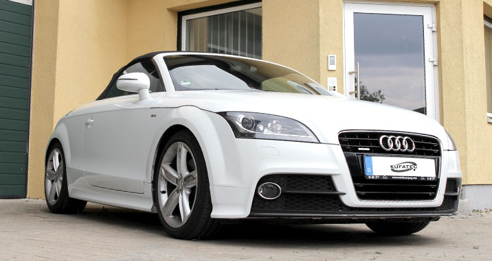 open close convertible top automatically audi tt 8j roadster. Black Bedroom Furniture Sets. Home Design Ideas