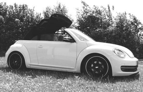 VW Beetle Cabriolet 5C new module